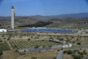 Solar Power Tower in Almeria, Spain